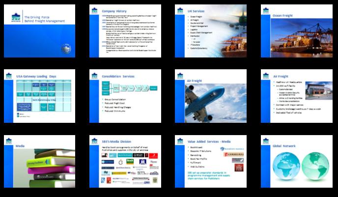Orbit Presentations Ltd - SBS WORLDWIDE LTD